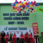 Lễ khánh thành nhà máy của công ty cổ phần Dược Phẩm PQA